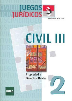 JUEGOS JURÍDICOS. DERECHO CIVIL III. Nº 2