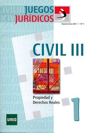 JUEGOS JURÍDICOS. DERECHO CIVIL III  Nº 1