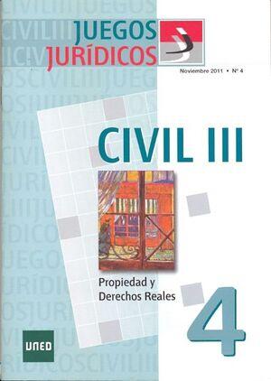 JUEGOS JURÍDICOS. DERECHO CIVIL III. Nº 4