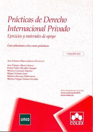 PRÁCTICAS DE DERECHO INTERNACIONAL PRIVADO 7ª EDICIÓN