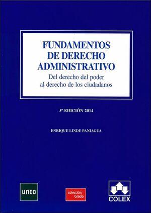 FUNDAMENTOS DE DERECHO ADMINISTRATIVO 5ª EDICIÓN (2014)