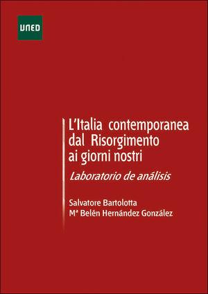 L'ITALIA CONTEMPORANEA DAL RISORGIMENTO AL GIORNI NOSTRI. LABORATORIO DE ANÁLISIS