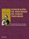 INTEGRACIÓN DE FUNCIONES DE VARIAS VARIABLES