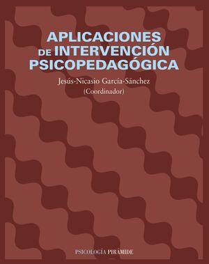 APLICACIONES DE INTERVENCIÓN PSICOPEDAGÓGICA