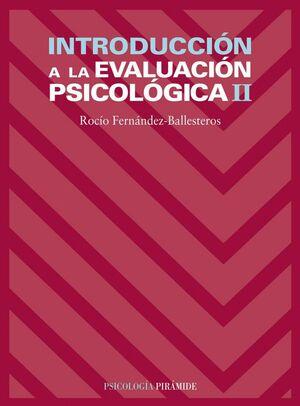 INTRODUCCIÓN A LA EVALUACIÓN PSICOLÓGICA II