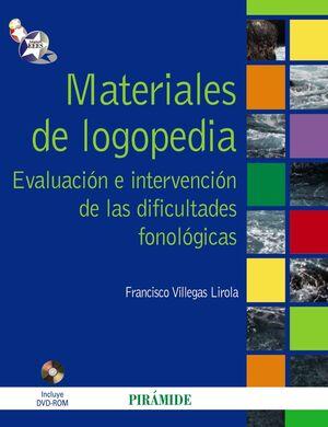 MATERIALES DE LOGOPEDIA
