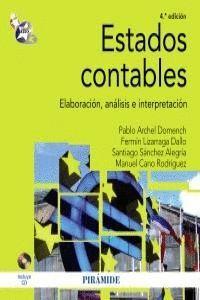 ESTADOS CONTABLES ELABORACIÓN, ANÁLISIS E INTERPRETACIÓN