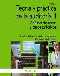 TEORA Y PRÁCTICA DE LA AUDITORA II ANÁLISIS DE ÁREAS Y CASOS PRÁCTICOS