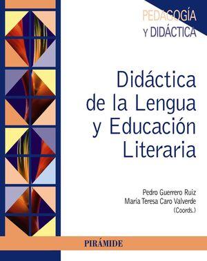 DIDÁCTICA DE LA LENGUA Y EDUCACIÓN LITERARIA