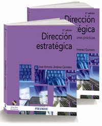 PACK-DIRECCIÓN ESTRATÉGICA (PACK: MANUAL + APLICACIONES PRACTICAS