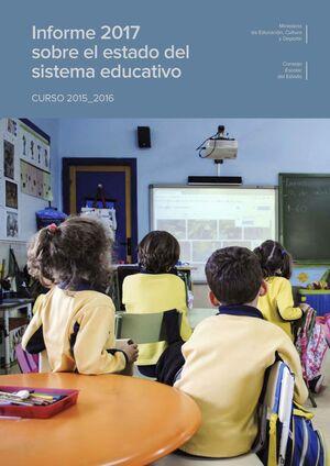 INFORME 2017 SOBRE EL ESTADO DEL SISTEMA EDUCATIVO