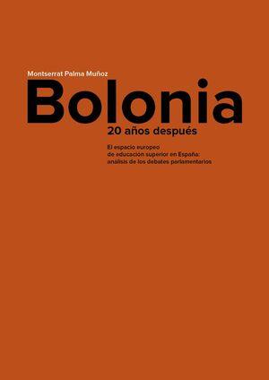 BOLONIA, 20 AÑOS DESPUÉS