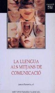 LA LLENGUA ALS MITJANS DE COMUNICACIÓ