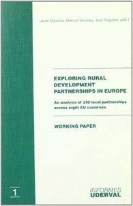 EXPLORING RURAL DEVELOPMENT PARTNERSHIPS IN EUROPE. AN ANALYSIS OF 330 LOCAL PARTNERSHIPS ACROSS EIG