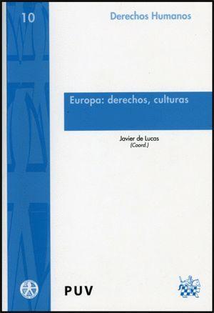 EUROPA: DERECHOS, CULTURAS
