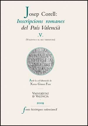 INSCRIPCIONS ROMANES DEL PAÍS VALENCIÀ, V