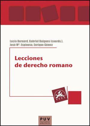 LECCIONES DE DERECHO ROMANO