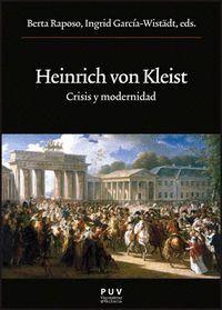 HEINRICH VON KLEIST CRISISI Y MODERNIDAD