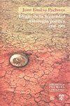 ELOGIO DE LA FUGACIDAD ANTOLOGIA POETICA 1958-2009