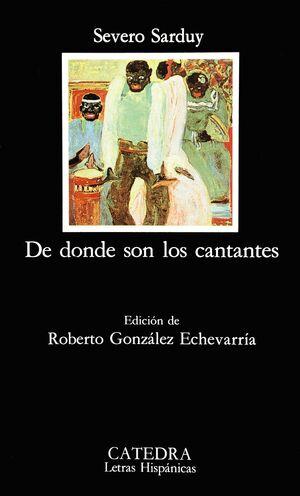 DE DONDE SON LOS CANTANTES