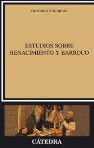 ESTUDIOS SOBRE RENACIMIENTO Y BARROCO