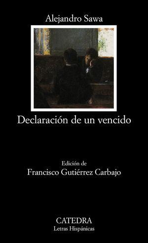 DECLARACIÓN DE UN VENCIDO