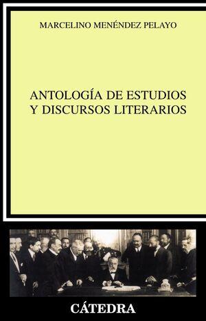 ANTOLOGA DE ESTUDIOS Y DISCURSOS LITERARIOS