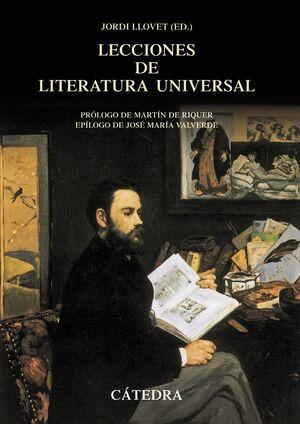 LECCIONES DE LITERATURA UNIVERSAL