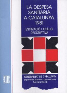 DESPESA SANITÀRIA A CATALUNYA