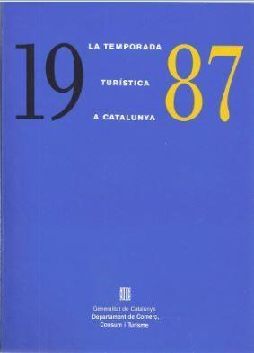 TEMPORADA TURÍSTICA A CATALUNYA 1987/LA