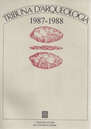 TRIBUNA D´ARQUEOLOGIA 1987-1988