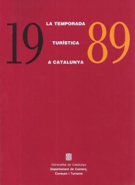 TEMPORADA TURSTICA A CATALUNYA 1989/LA
