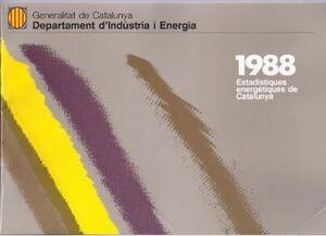 ESTADSTIQUES ENERGÈTIQUES DE CATALUNYA 1988
