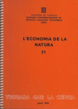 ECONOMIA DE LA NATURA. MASSS DEL MONTSENY/L´