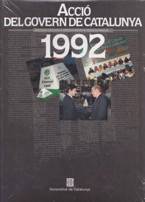 ACCIÓ DEL GOVERN DE CATALUNYA 1992