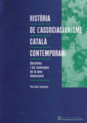 HISTÒRIA DE L´ASSOCIACIONISME CATALÀ CONTEMPORANI: BARCELONA I COMARQUES DE LA SEVA DEMARCACIÓ (1874