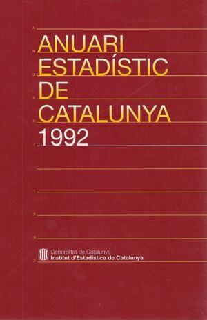ANUARI ESTADSTIC DE CATALUNYA 1992