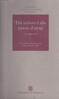 VALORS I ELS JOVES D´AVUI/ELS