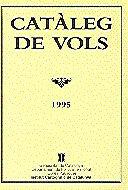 CATÀLEG DE VOLS. 1995