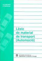 LÈXIC DE MATERIAL DE TRANSPORT (AUTOMOCIÓ)