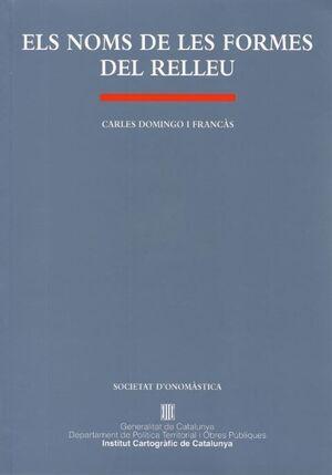 NOMS DE LES FORMES DEL RELLEU/ELS