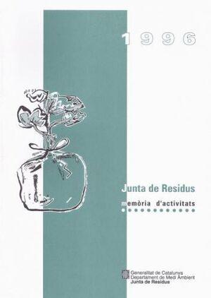 MEMÒRIA D´ACTIVITATS 1996. JUNTA DE RESIDUS