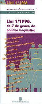 LLEI 1/1998