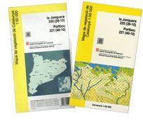 MAPA DE VEGETACIÓ DE CATALUNYA 1:50 000. LA JONQUERA 200 (39-10). PORTBOU 221(40-10) (MAPA + LLIBRE)