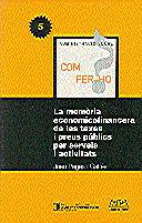 MEMÒRIA ECONOMICOFINANCERA DE LES TAXES I PREUS PÚBLICS PER SERVEIS I ACTIVITATS/LA