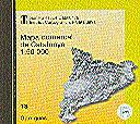 MAPA COMARCAL DE CATALUNYA 1:50000 RASTER, N. 18. GARRIGUES