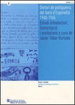 DIETARIS DE POSTGUERRA DEL BARO D´ESPONELLA, 1940-1945