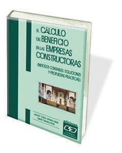 EL CÁLCULO DEL BENEFICIO EN EMPRESAS CONSTRUCTORAS