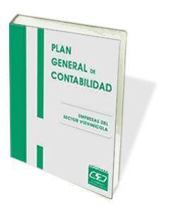 PLAN GENERAL DE CONTABILIDAD. EMPRESAS VITIVINÍCOLAS