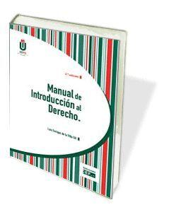MANUAL DE INTRODUCCIÓN AL DERECHO (3ª EDICIÓN)